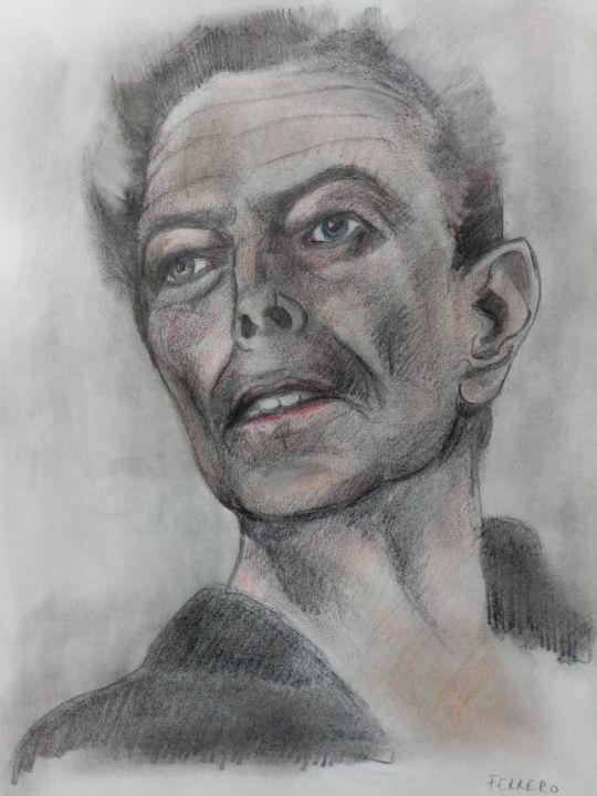 David Bowie by ferrokaro